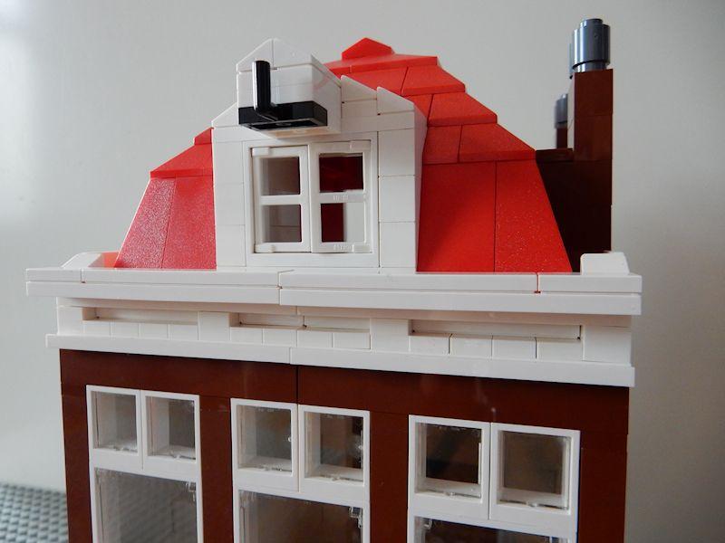 voorkant huis wit maken